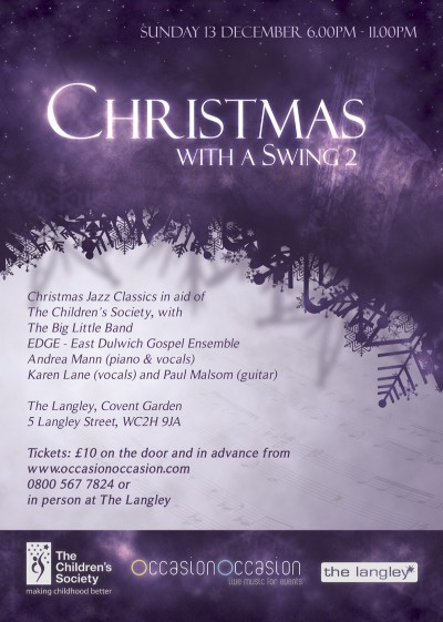 Christmas with a Swing 2 Flyer