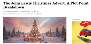The John Lewis Christmas ad: A breakdown
