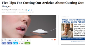 How to cut down on reading about cutting down on sugar