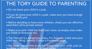 A Tory guide to parenting
