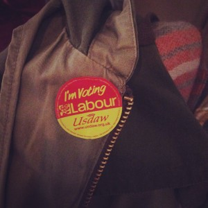 labour badge