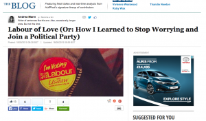 How I learned to stop worrying and joined the Labour party